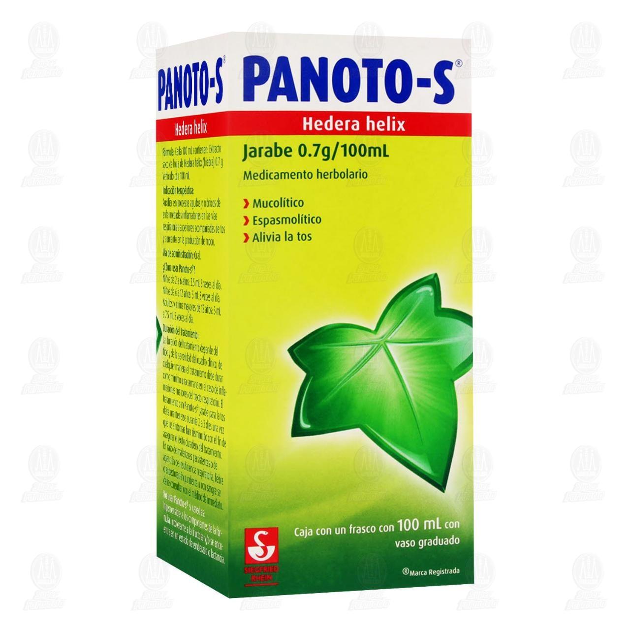Comprar Panoto-S Jarabe 0.7gr/100ml en Farmacias Guadalajara