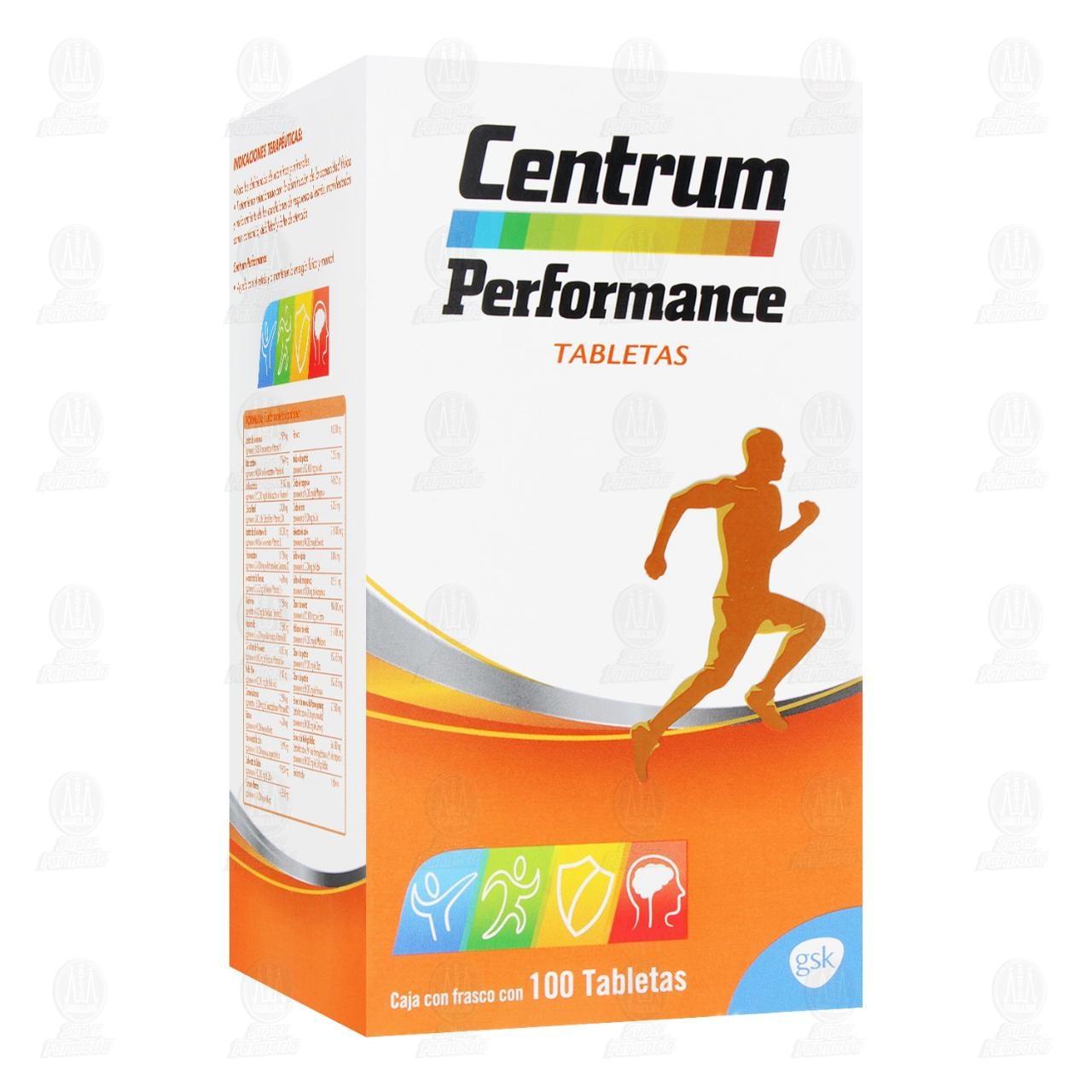 Centrum Performance 100 Tabletas