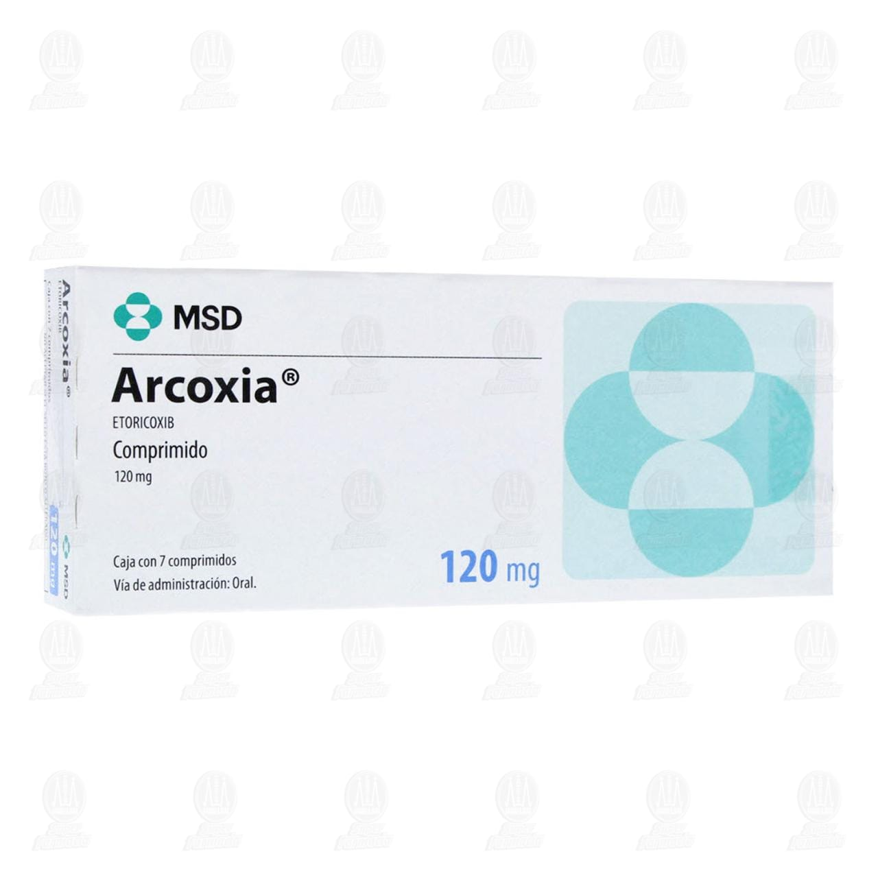 Arcoxia 120mg 7 Comprimidos