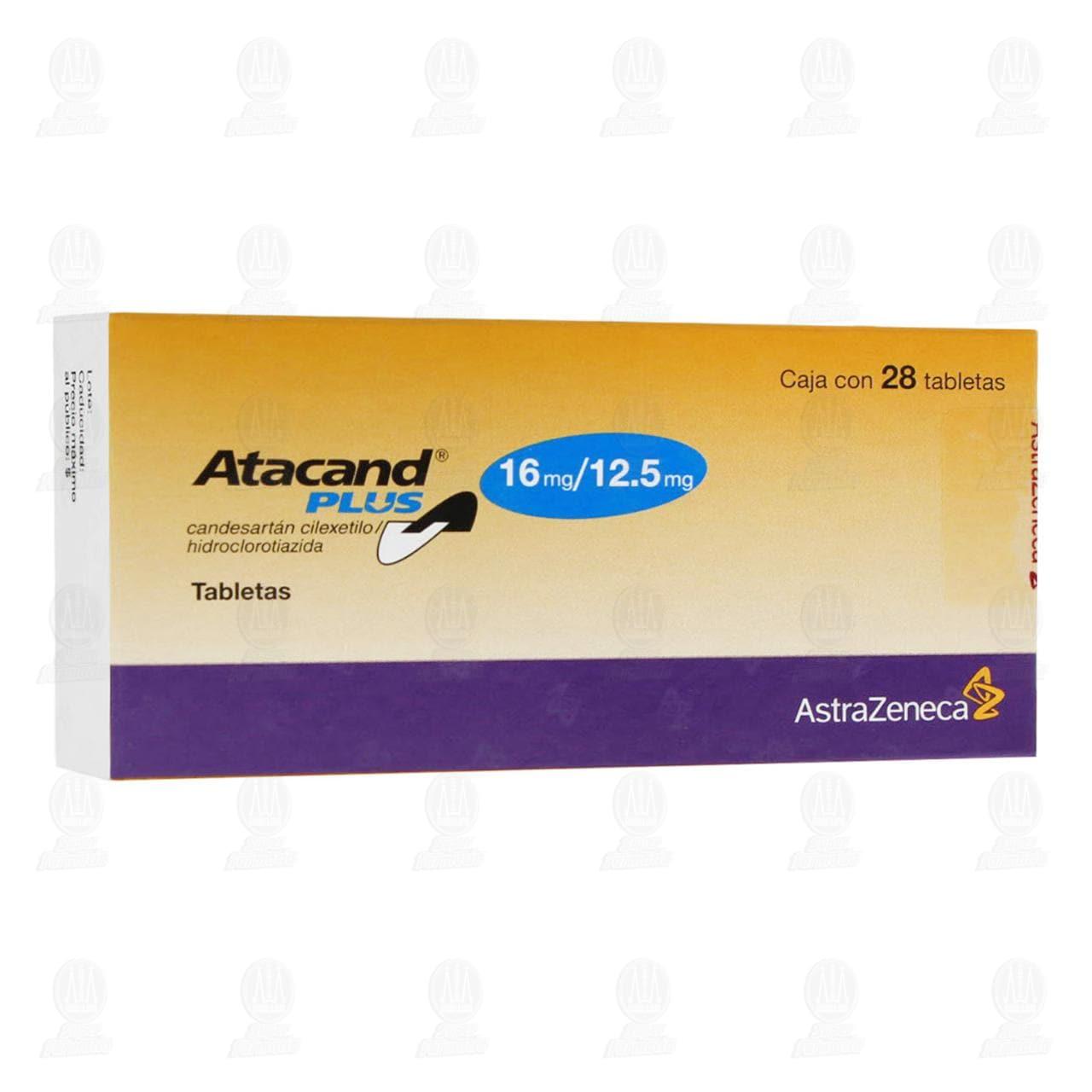 Comprar Atacand Plus 16mg/12.5mg 28 Tabletas en Farmacias Guadalajara