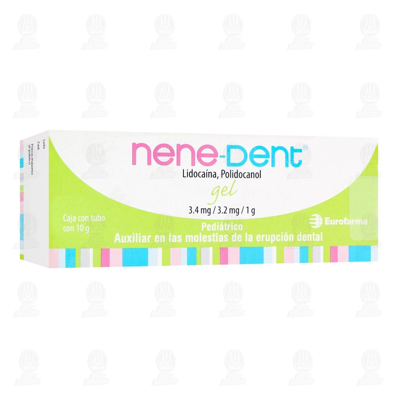 Comprar Nene Dent 10gr Gel Tubo en Farmacias Guadalajara
