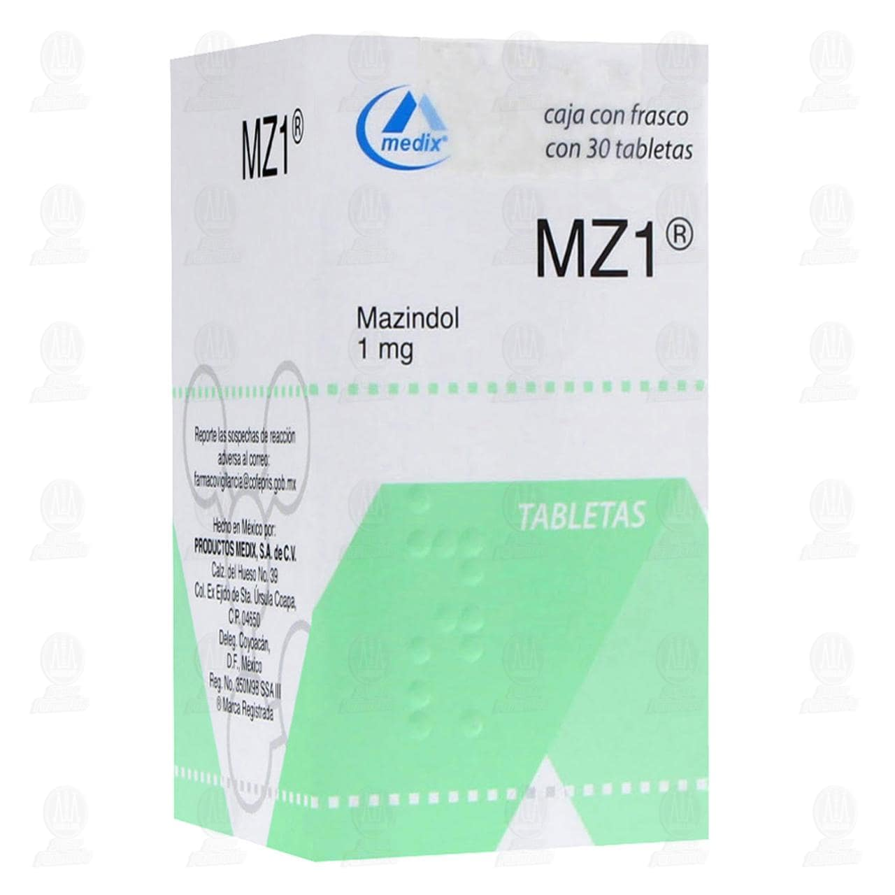 MZ1 1mg 30 Tabletas