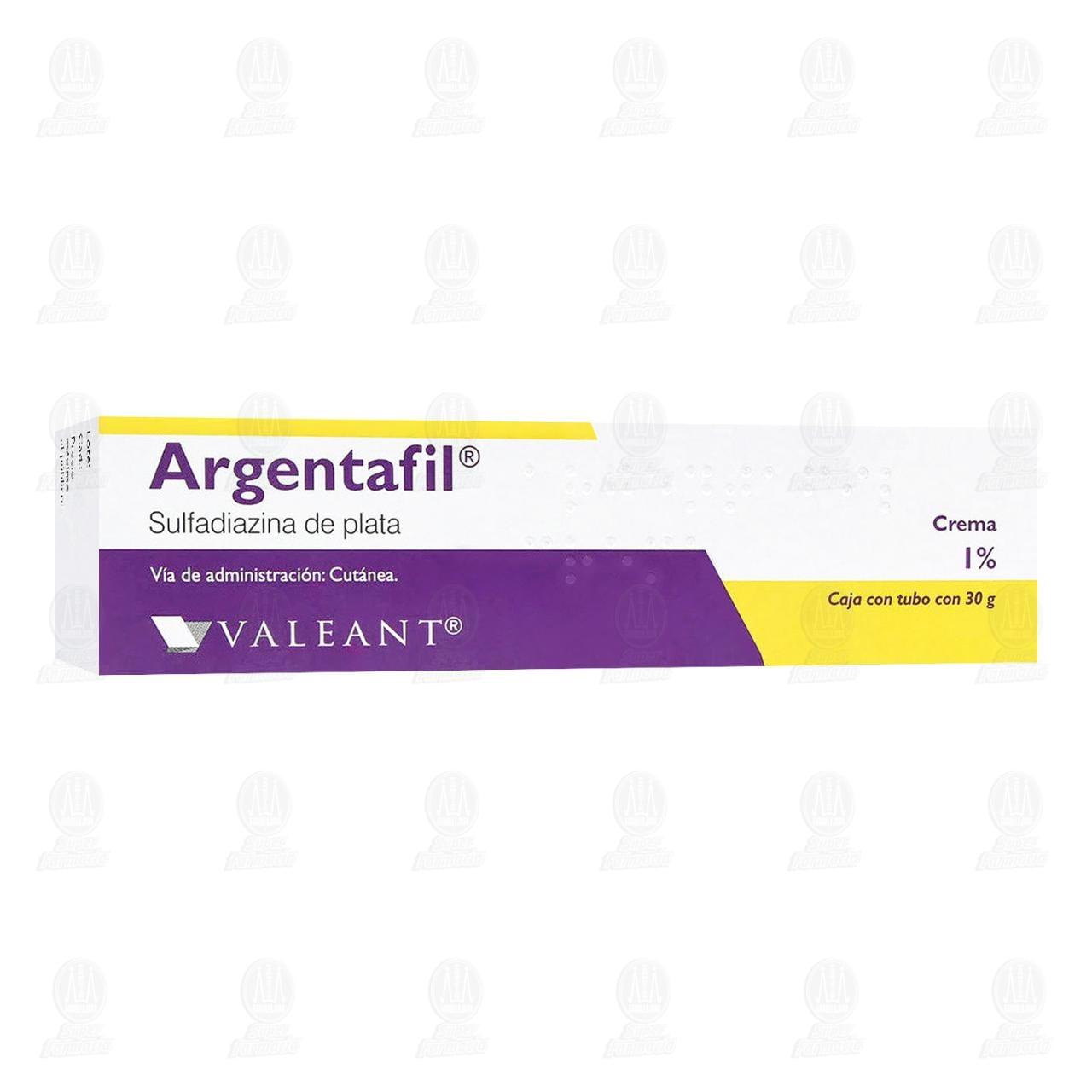 Argentafil 1% 30gr Crema Tubo