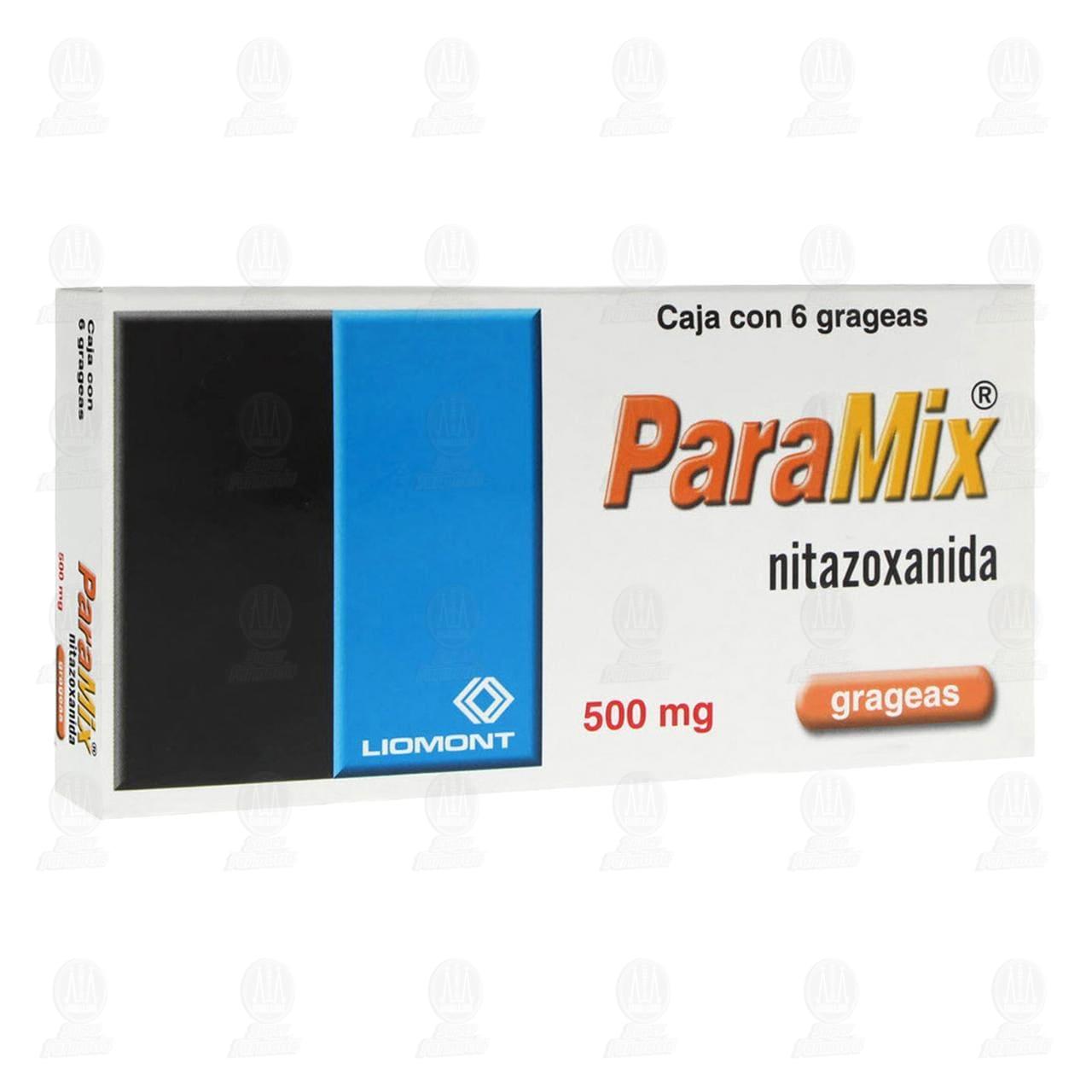 Comprar Paramix 500mg 6 Grageas en Farmacias Guadalajara