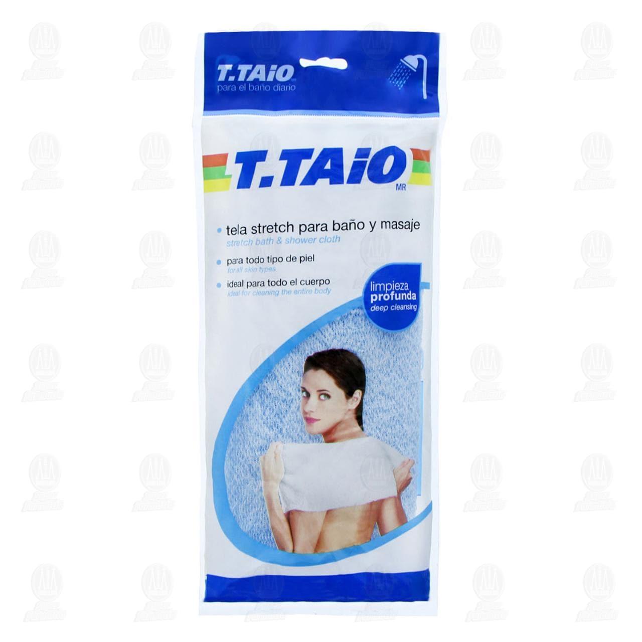 Tela Stretch T.Taio para Baño y Masaje, 1 pz.