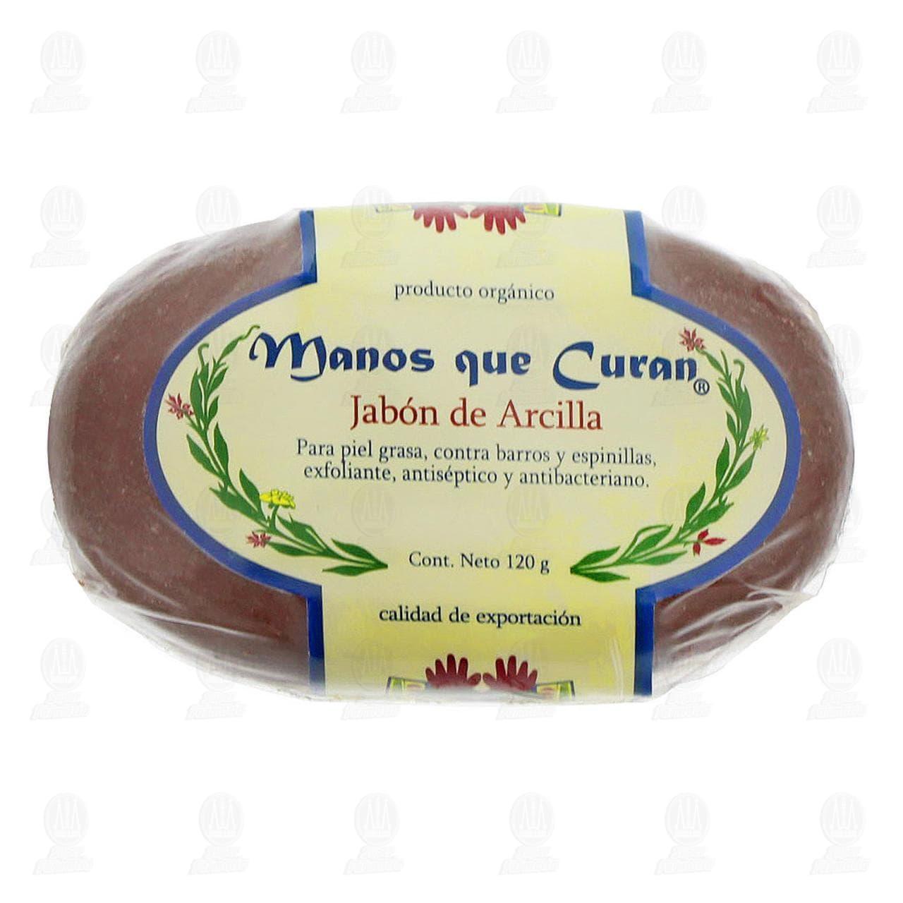 Comprar Jabón Orgánico Manos que Curan de Arcilla, 120 gr. en Farmacias Guadalajara