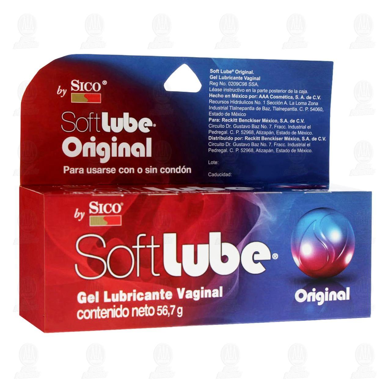SoftLube Original Sico Lubricante Íntimo 56.7gr