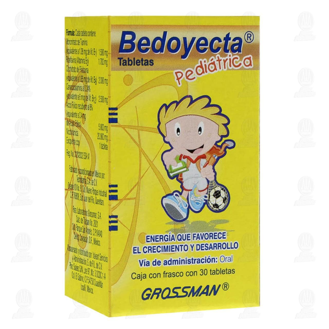 Comprar Bedoyecta Pediátrico 30 Tabletas en Farmacias Guadalajara