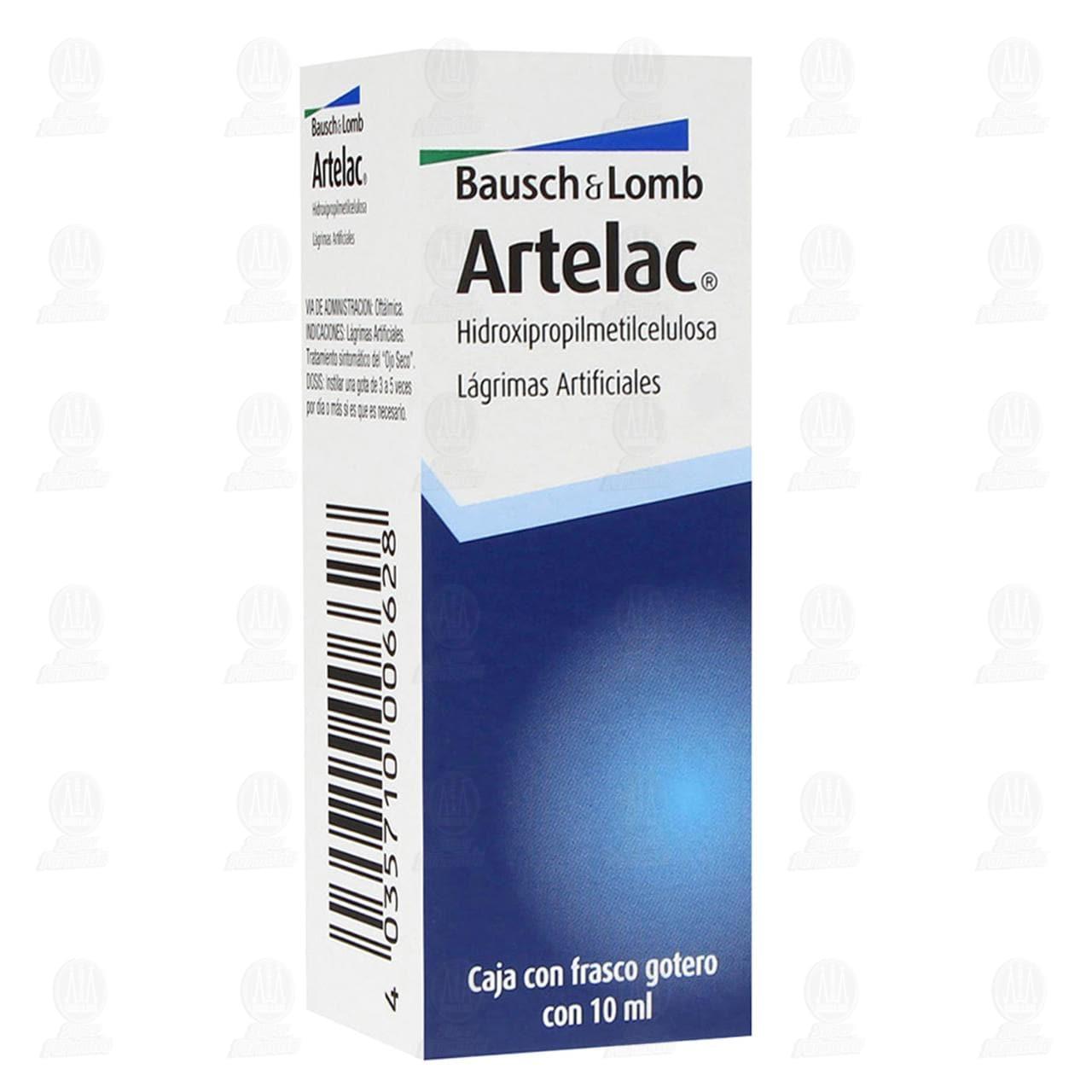 Comprar Artelac Lágrimas Artificiales 10ml en Farmacias Guadalajara