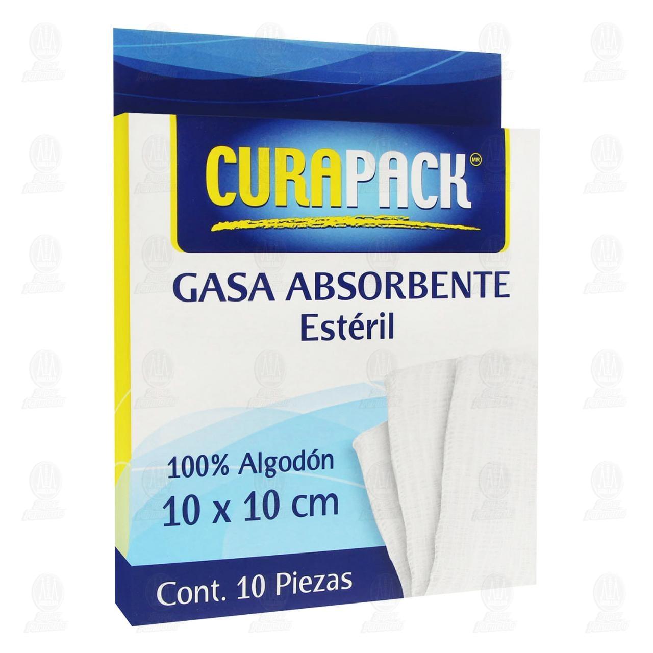 Gasa Simple Curapack 10 x 10 cm 10 Piezas