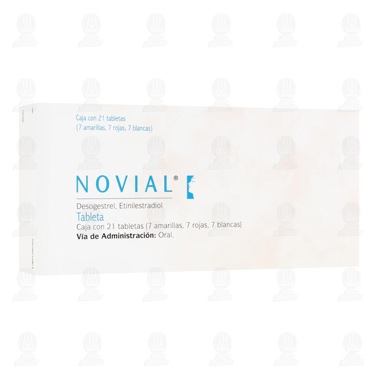 Comprar Novial 21 Tabletas en Farmacias Guadalajara