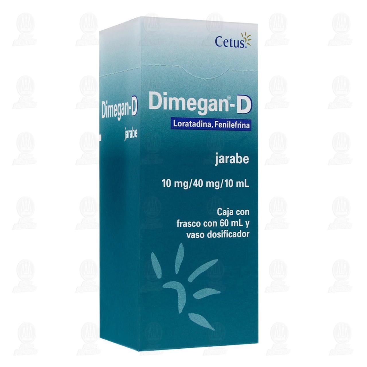 Dimegan-D 60ml Jarabe con Vaso Dosificador