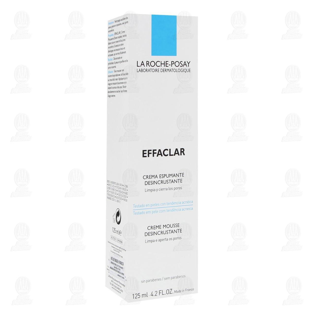 Comprar La Roche Posay Crema Limpiadora Espumosa Piel Grasa Effaclar, 125 ml. en Farmacias Guadalajara