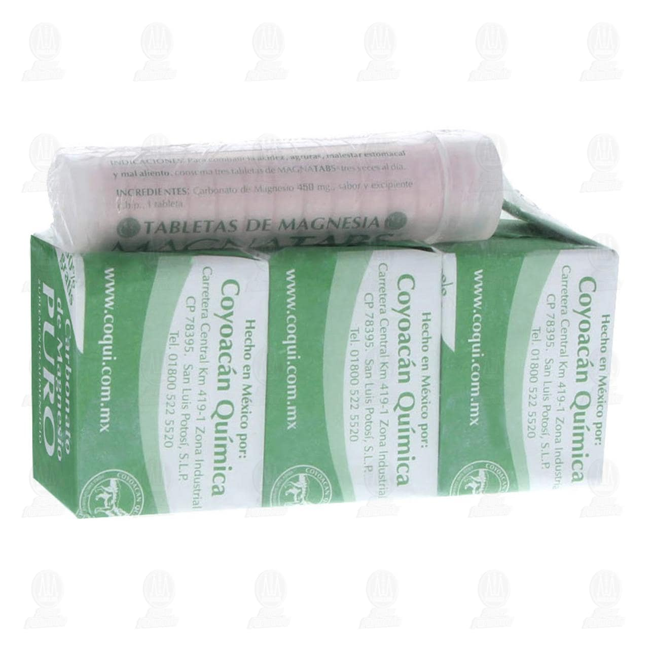 Comprar Magnesia Coyoacán 7gr con 3pzas en Farmacias Guadalajara