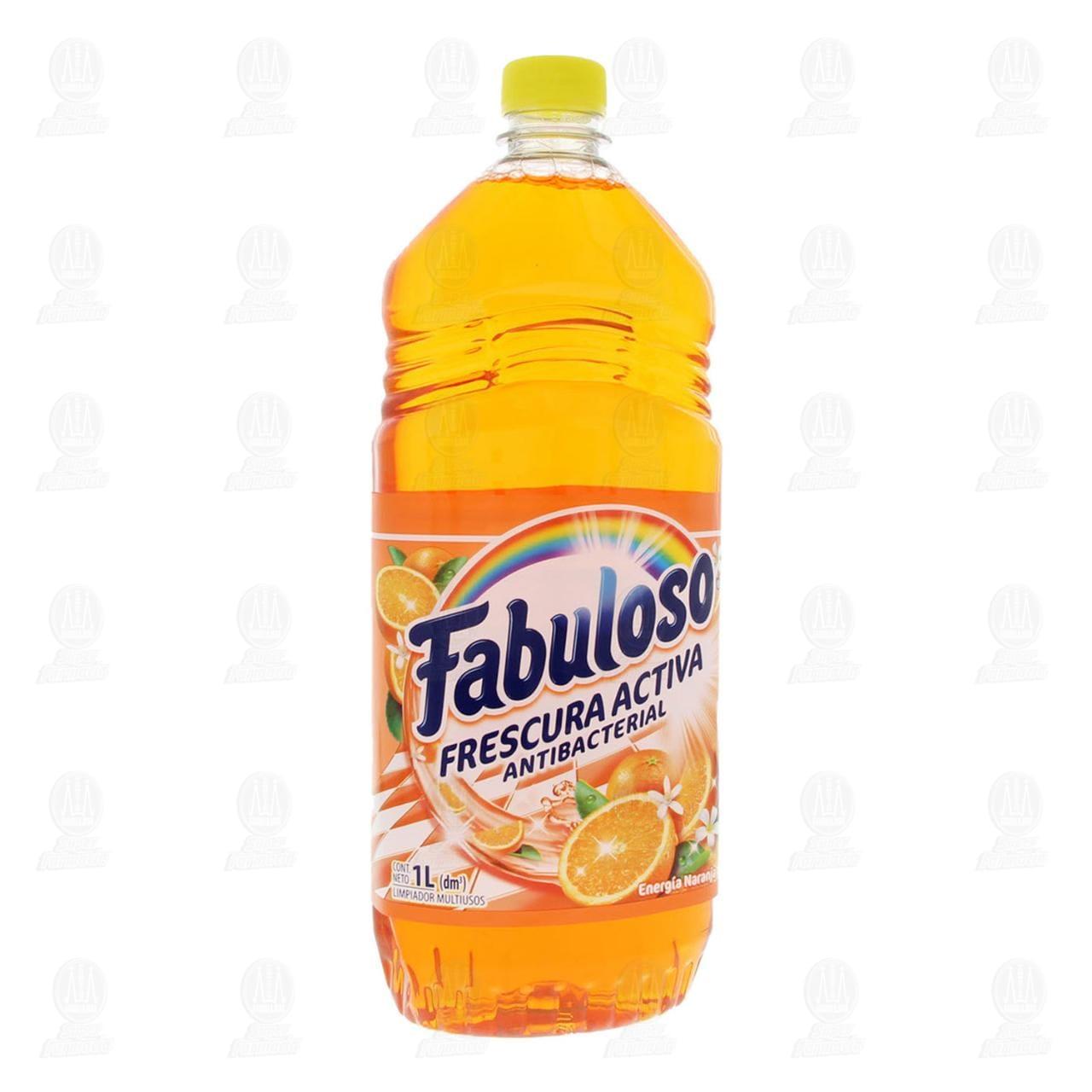 Limpiador Fabuloso Frescura Activa Naranja, 1 l.