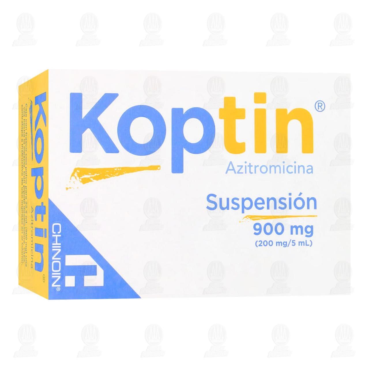 Comprar Koptin 900mg (200mg/5ml) Suspensión 22.5ml en Farmacias Guadalajara