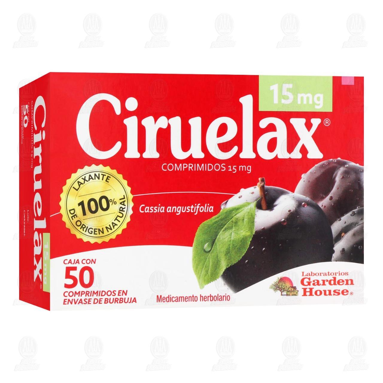 Ciruelax 50 Comprimidos