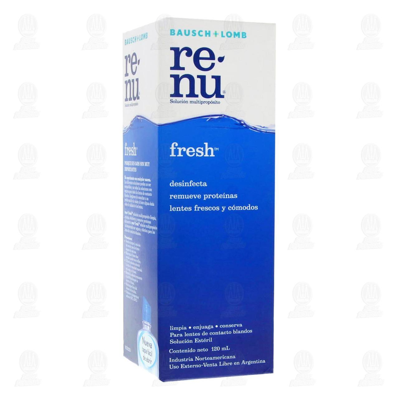 Comprar Renu Fresh 120ml Solución en Farmacias Guadalajara