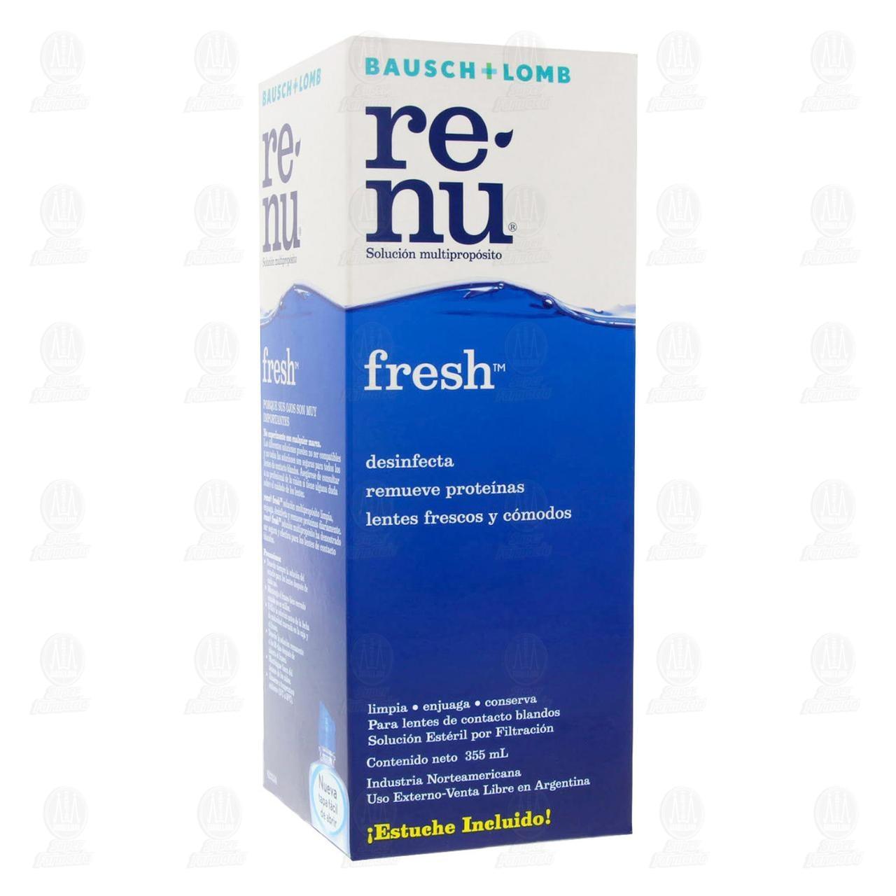 Comprar Renu Fresh 355ml Solución en Farmacias Guadalajara