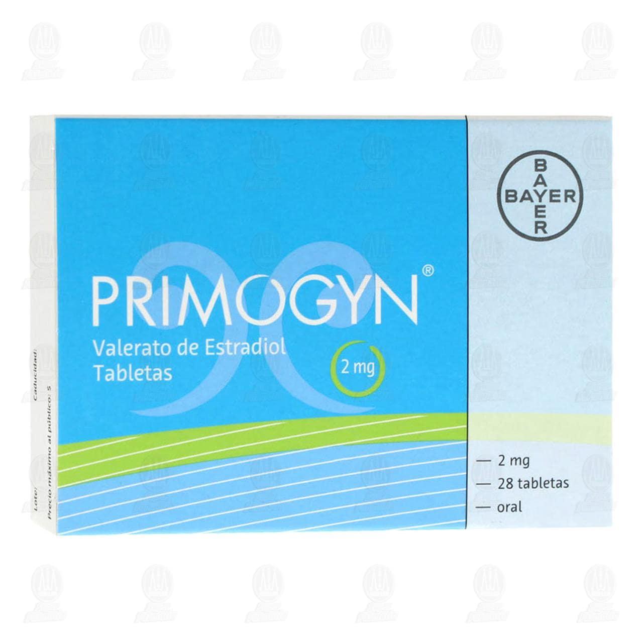 Primogyn 2mg 28 Grageas