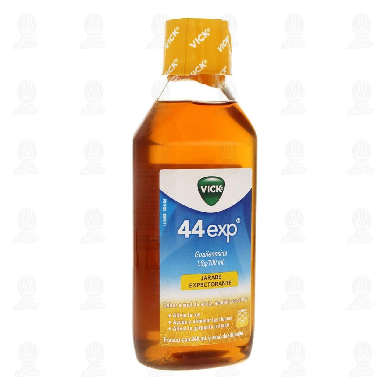 Comprar Vick 44 Exp Sabor a Miel de Abeja, Mentol y Eucalipto 240ml en Farmacias Guadalajara