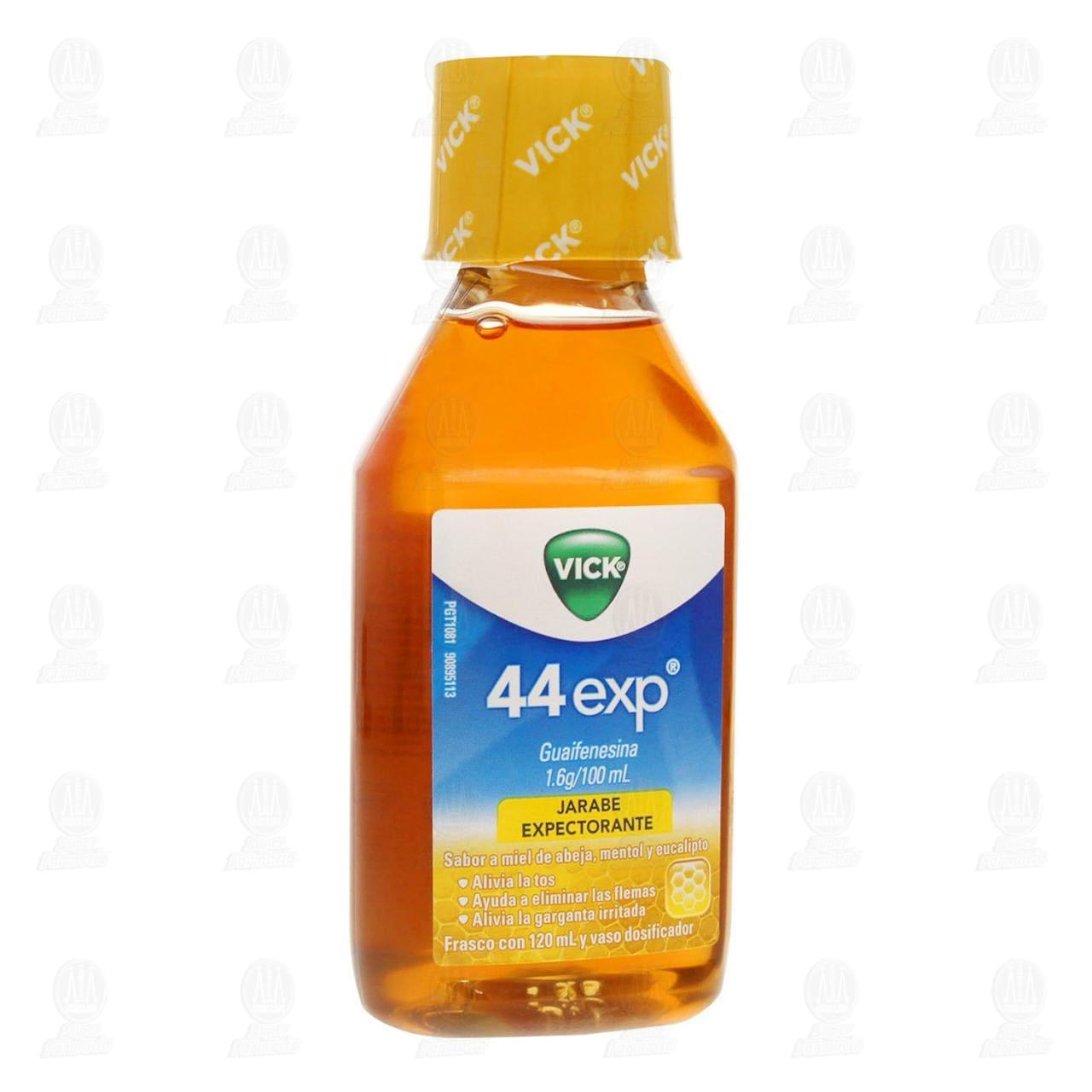 Comprar Vick 44 Exp Sabor a Miel de Abeja, Mentol y Eucalipto 120ml en Farmacias Guadalajara