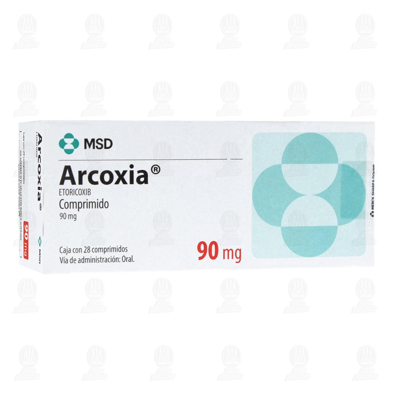 Arcoxia 90mg 28 Comprimidos