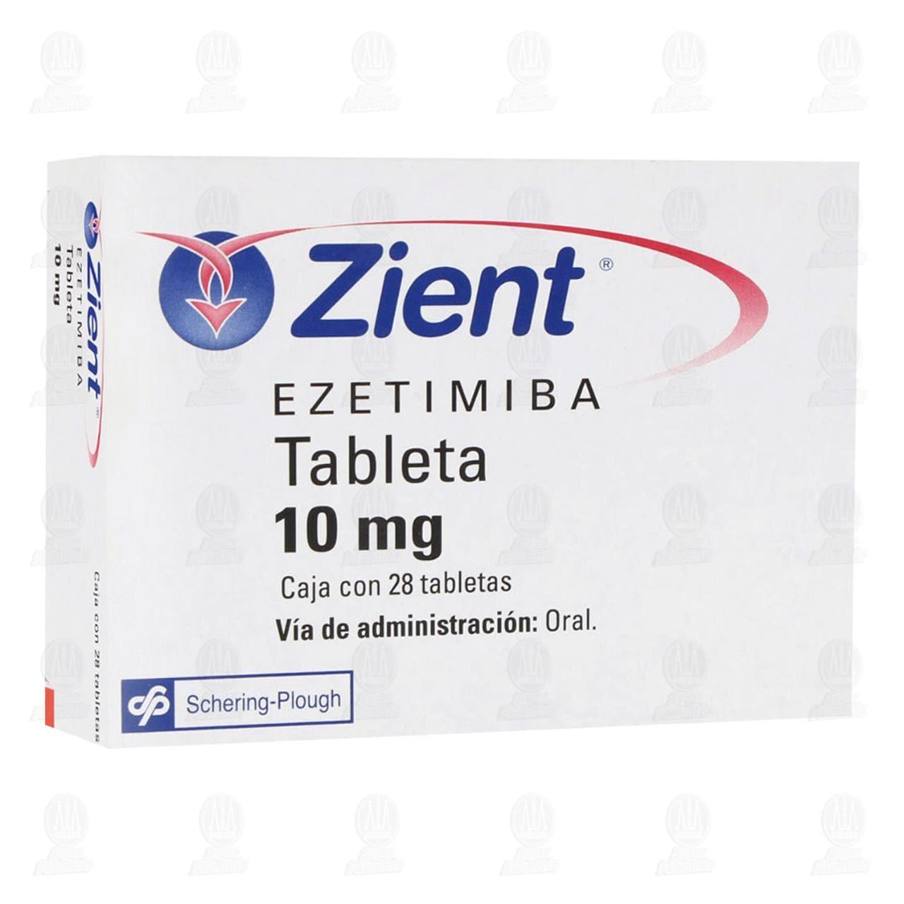 Zient 10mg 28 Tabletas