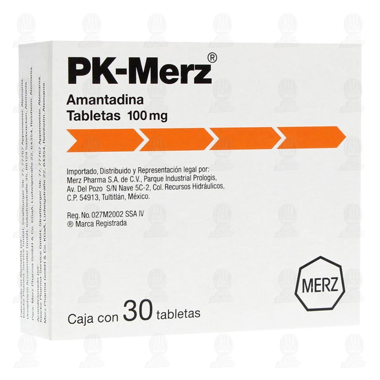 Comprar Pk-Merz 100mg 30 Tabletas en Farmacias Guadalajara