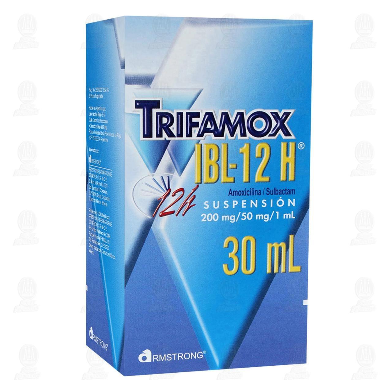 Comprar Trifamox IBL-12 H 30ml Suspensión en Farmacias Guadalajara