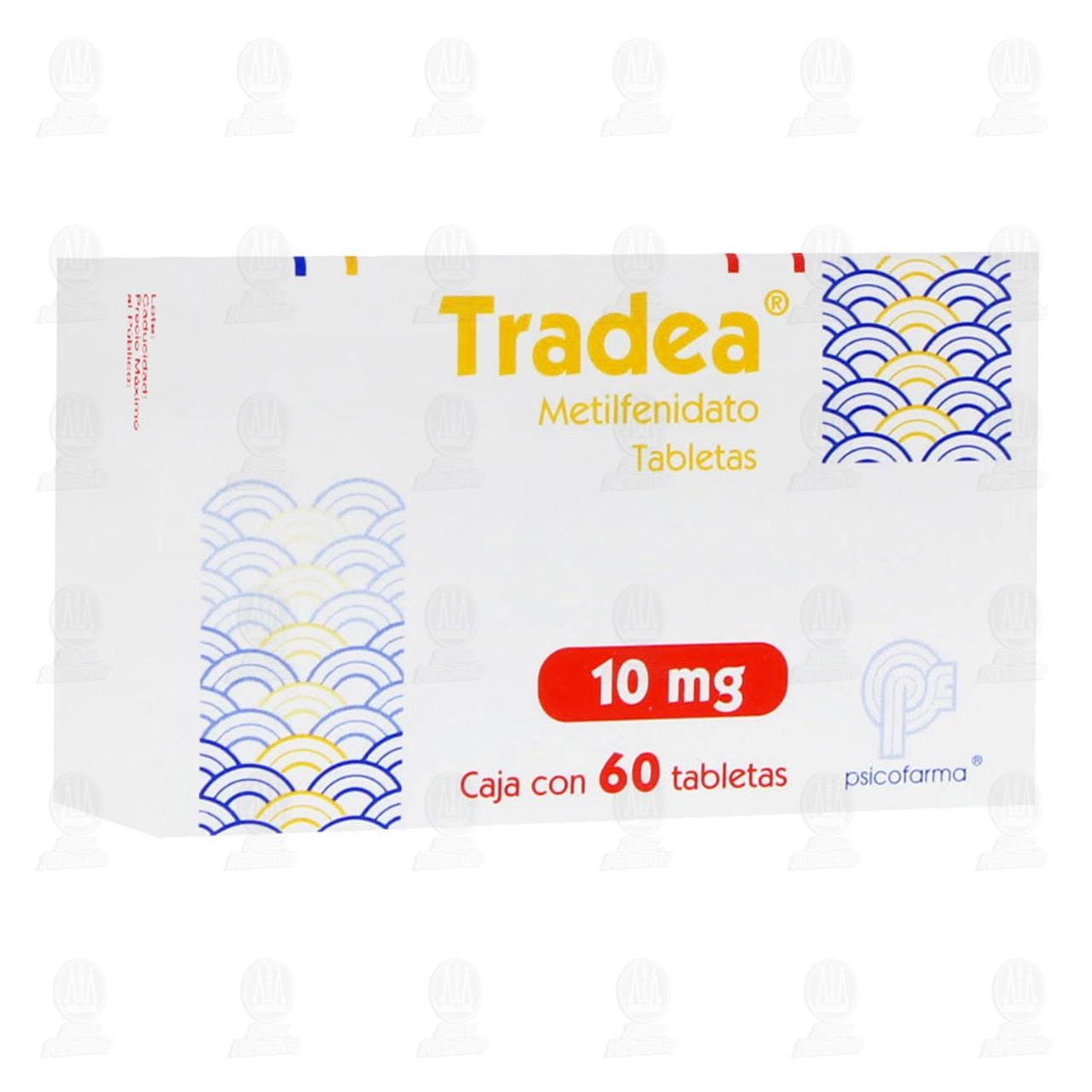 Comprar Tradea 10mg 60 Tabletas en Farmacias Guadalajara