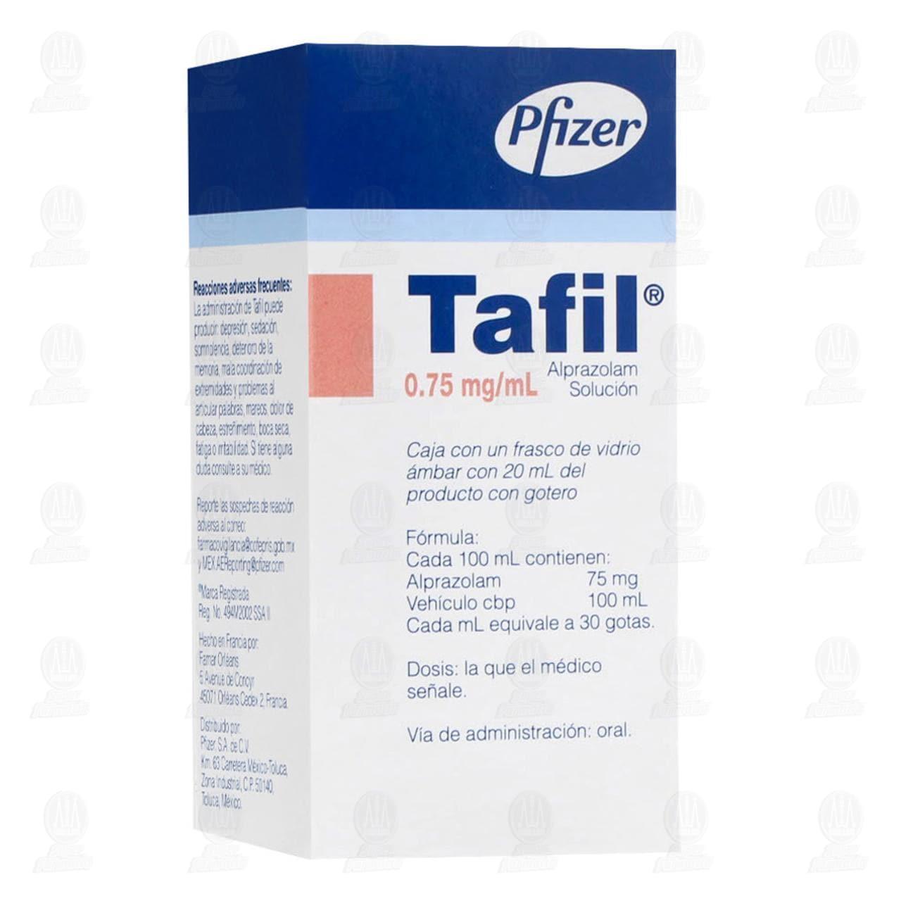 Comprar Tafil 0.75mg/ml Solución en Farmacias Guadalajara