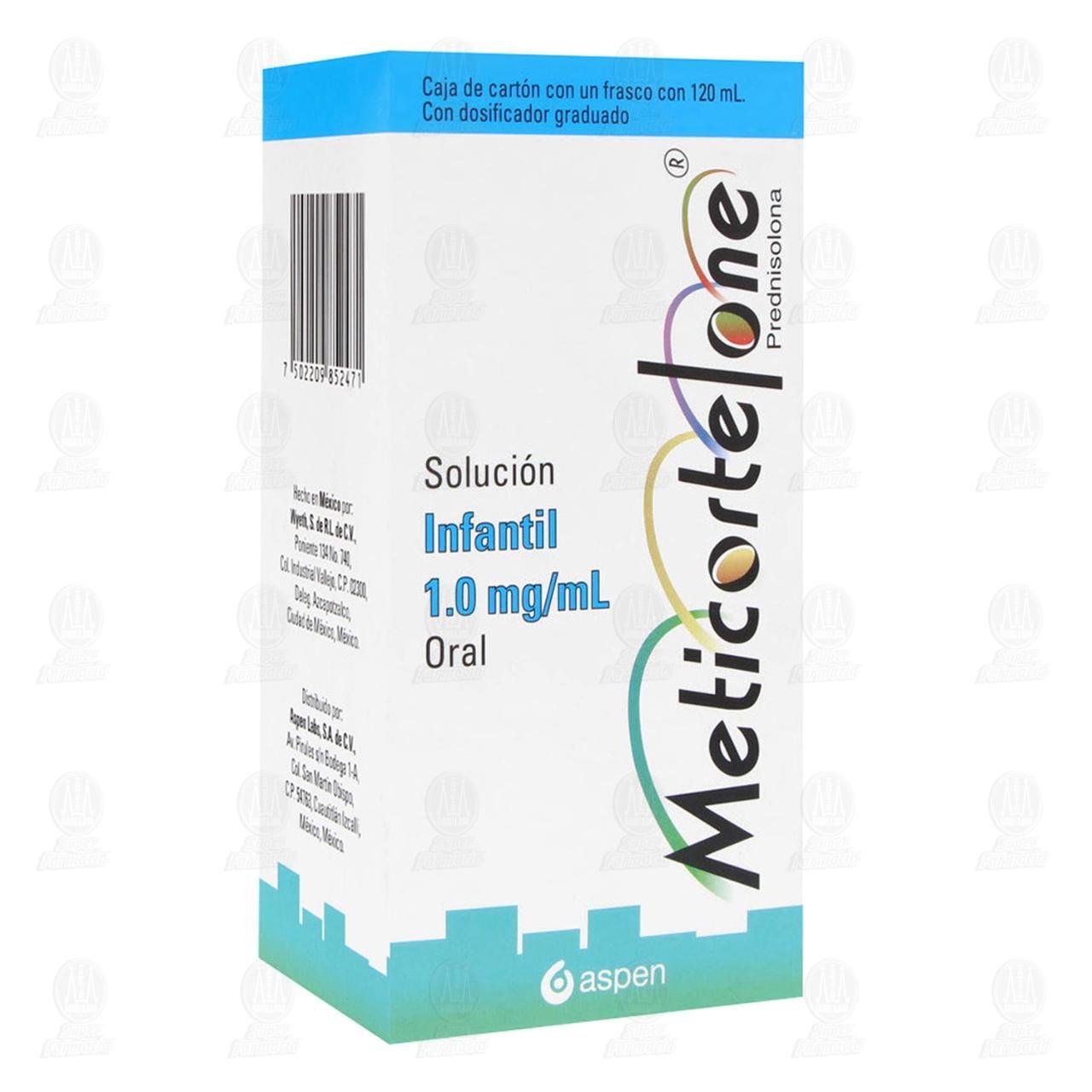 Comprar Meticortelone 1mg/ml 120ml Solución Infantil en Farmacias Guadalajara