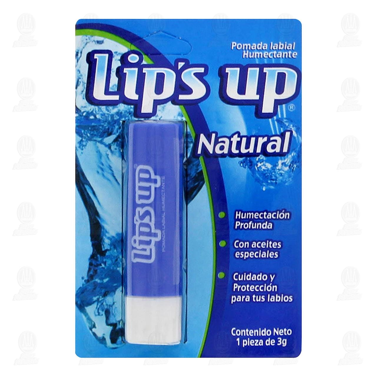 Protector Labial Lip's Up Natural, 3 gr.