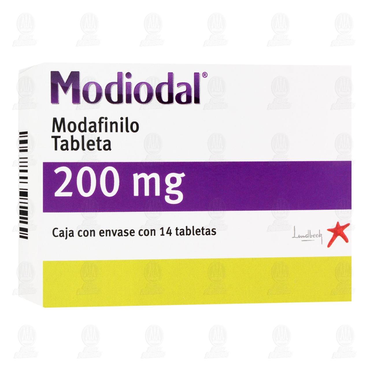 Comprar Modiodal 200mg 14 Tabletas en Farmacias Guadalajara