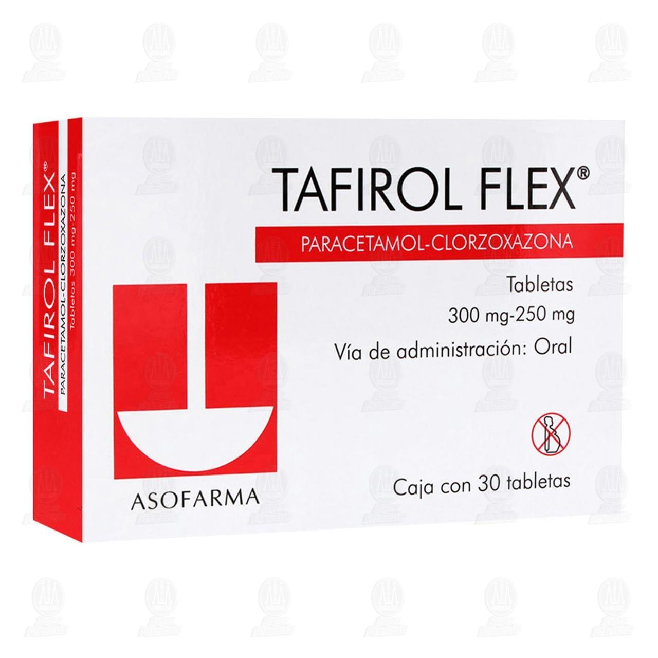 Tafirol Flex 300mg/250mg 30 Tabletas