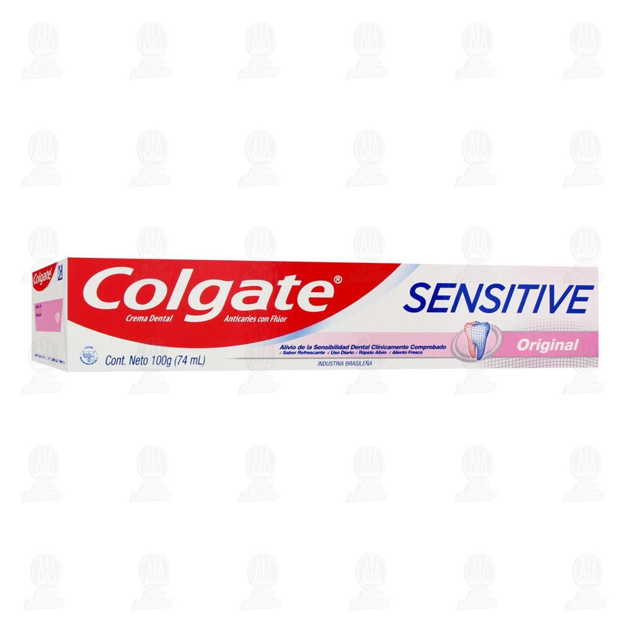 Comprar Pasta Dental Colgate Sensitive Original, 74 ml. en Farmacias Guadalajara