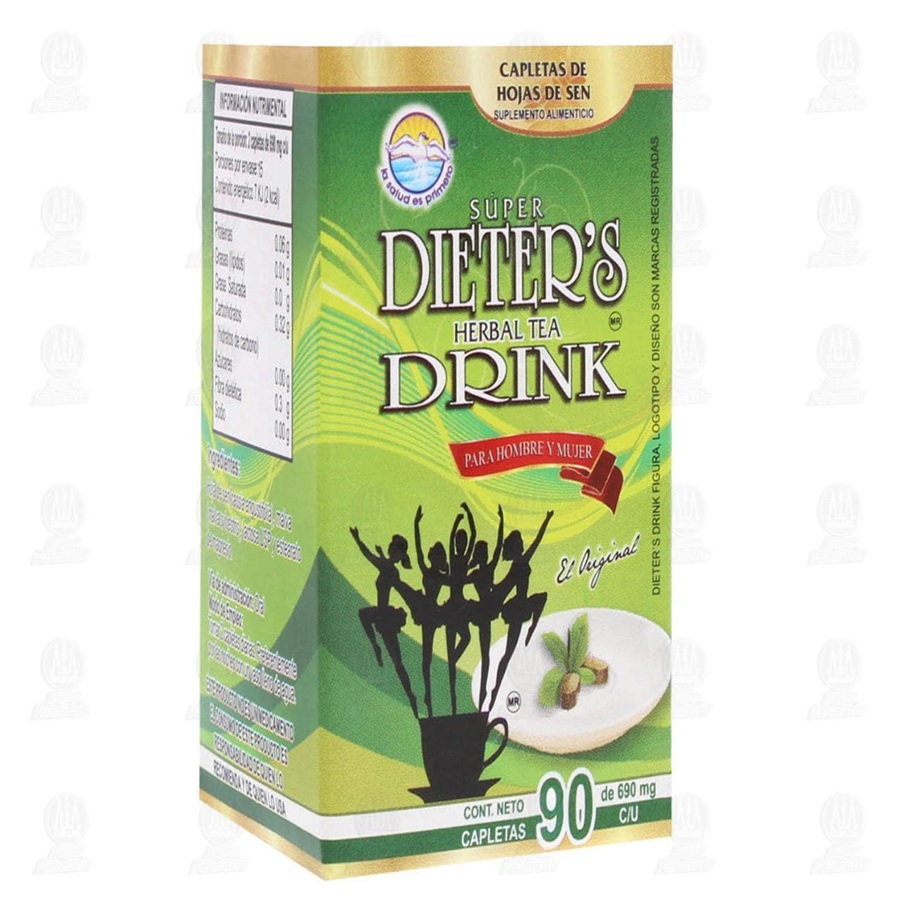 Comprar Dieter's Drink 62.1gr 90 Capletas en Farmacias Guadalajara