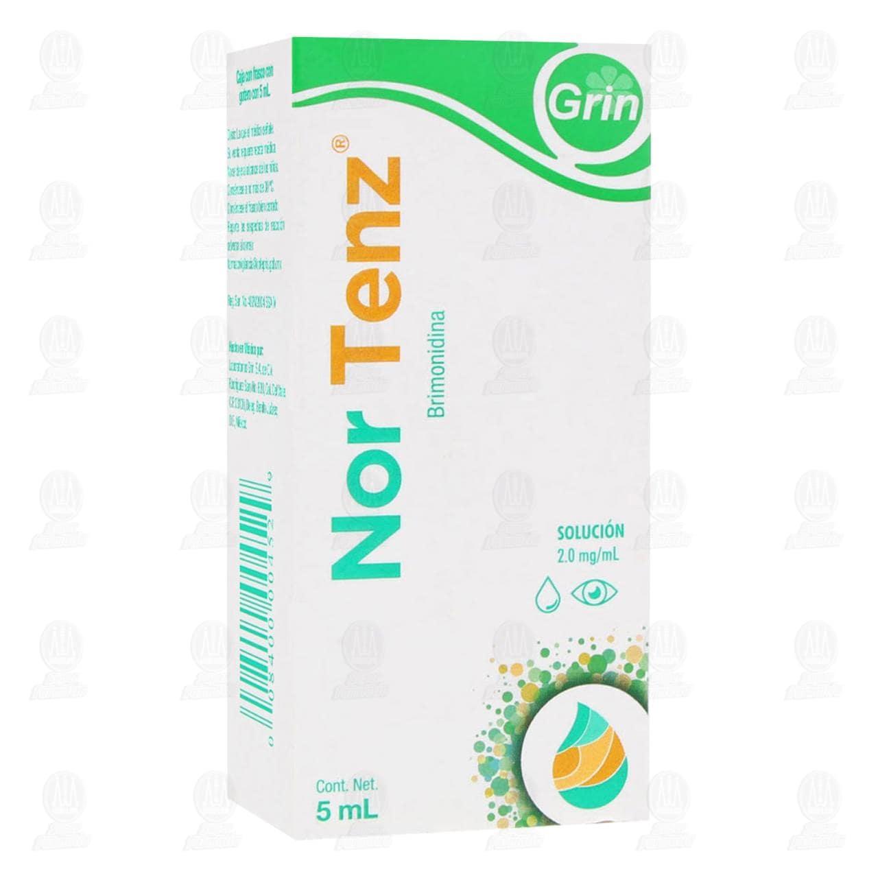 Comprar Nor Tenz 2.0mg 5ml Solución Oftálmica en Farmacias Guadalajara