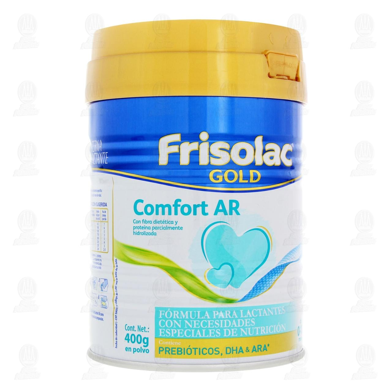 Comprar Fórmula Infantil Frisolac Gold Comfort en Polvo (Edad 0-12 Meses), 400 gr. en Farmacias Guadalajara