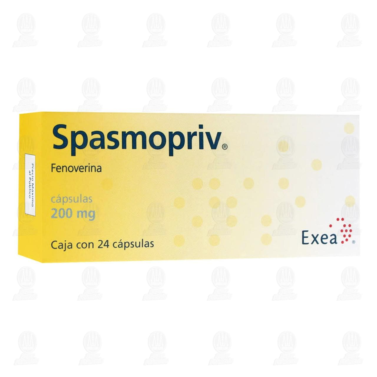 Comprar Spasmopriv 200mg 24 Cápsulas en Farmacias Guadalajara