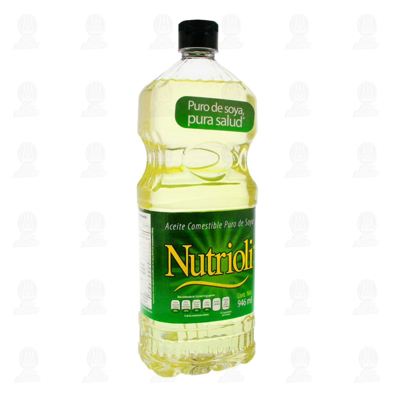 Aceite Nutrioli de Soya, 946 ml.