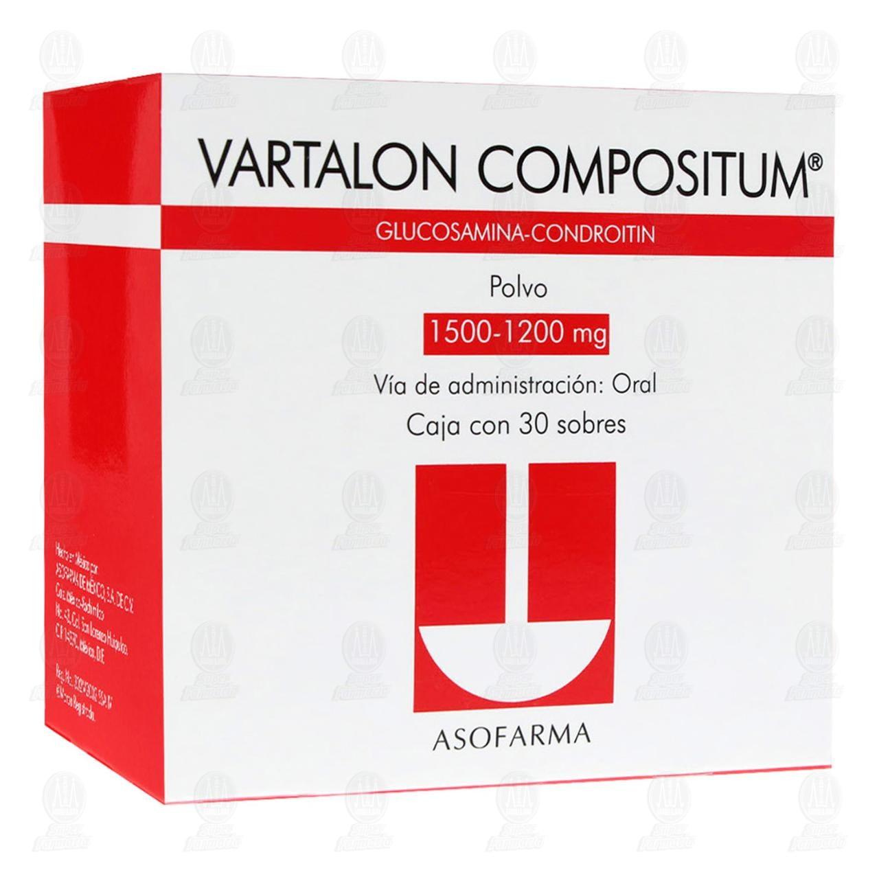 Vartalon Compositum 1500mg/1200mg 30 Sobres