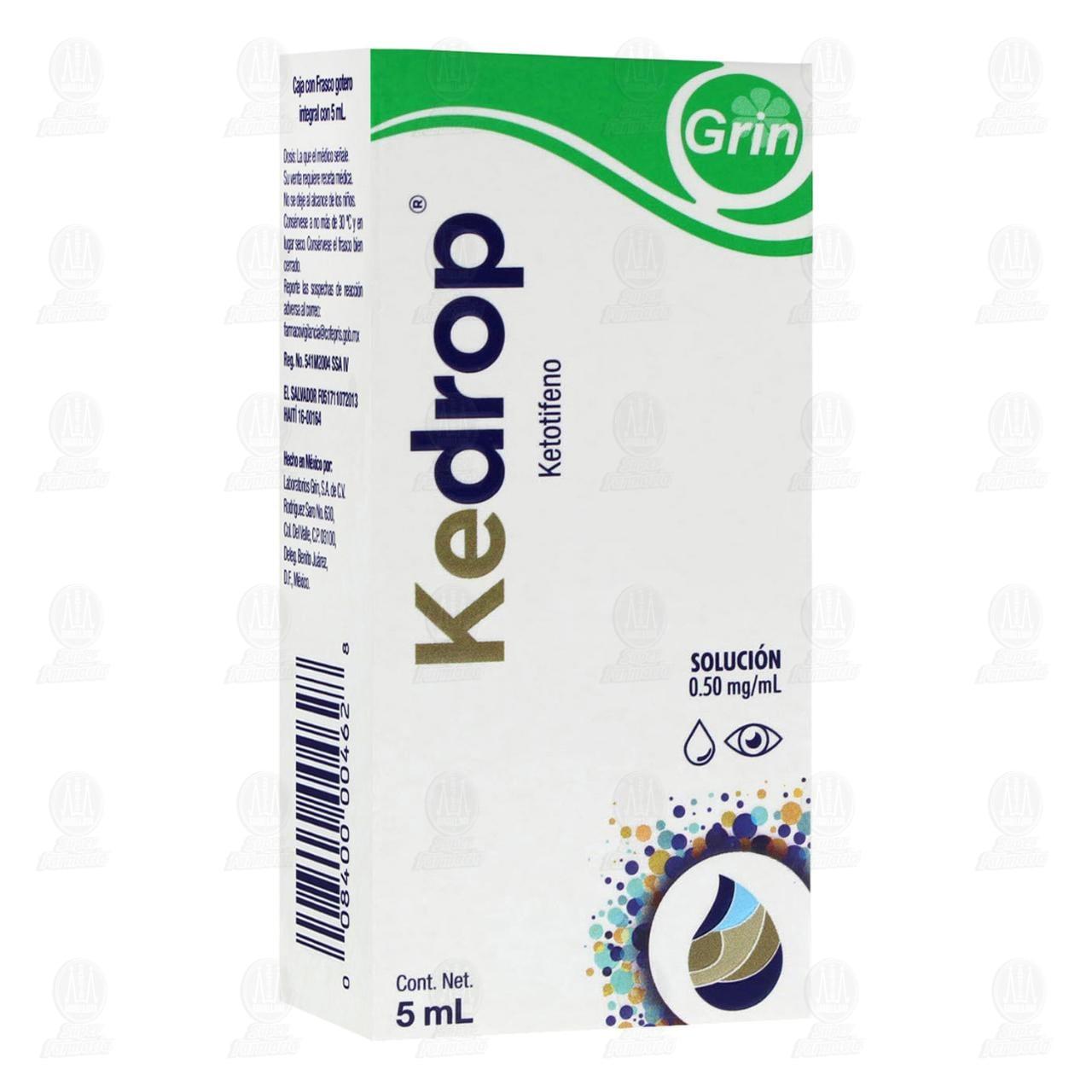 Comprar Kendrop 0.50 mg/5ml Solución oftálmica en Farmacias Guadalajara