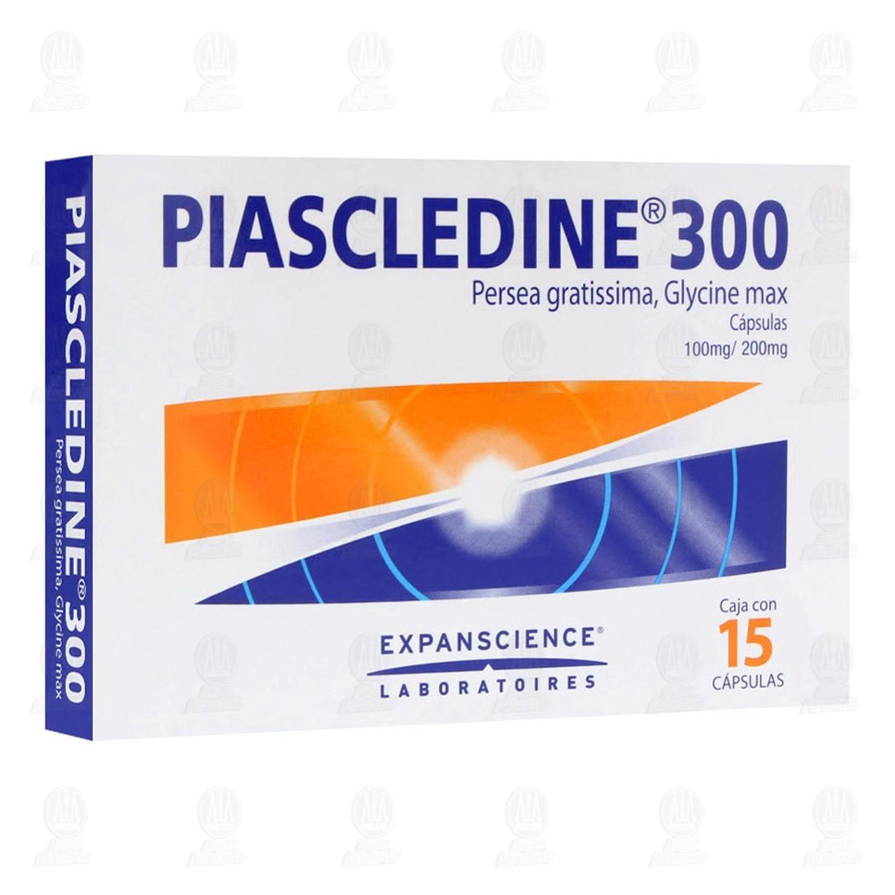 Comprar Piascledine 300 100mg/200mg 15 Cápsulas en Farmacias Guadalajara
