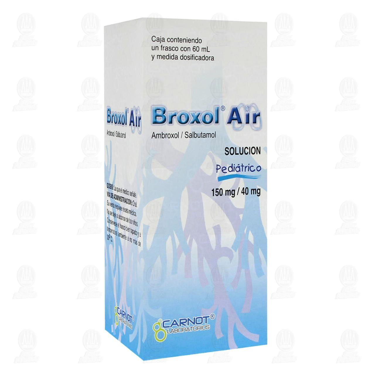 Comprar Broxol Air Solución Pediátrico150mg/40mg 60ml en Farmacias Guadalajara