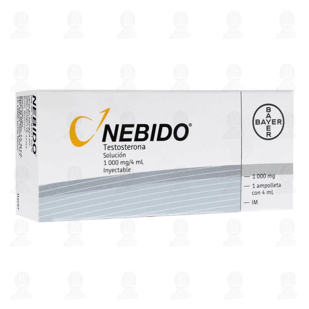 Nebido 4ml Solución Inyectable 1 Ampolletas