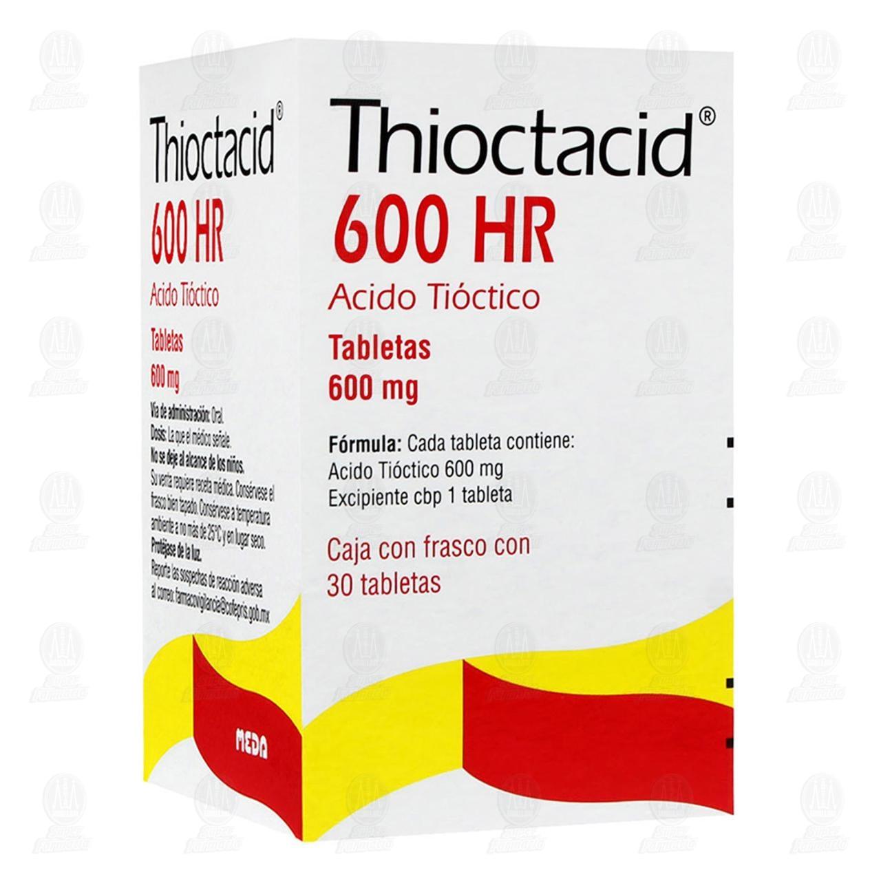 Thioctacid 600 HR 600mg 30 Tabletas