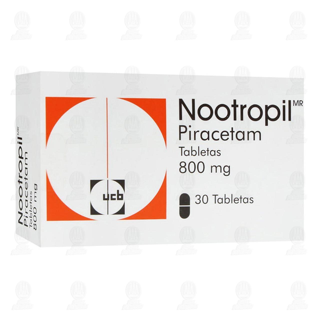 Nootropil 800mg 30 Tabletas