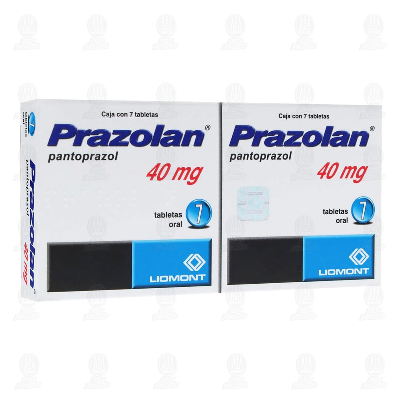 Comprar Prazolan 40mg Dual 7 Tabletas C/U en Farmacias Guadalajara